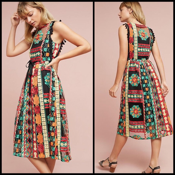 405d954246f6 Anthropologie Dresses & Skirts - Anthropologie Eva Franco Saskia  embroidered dress